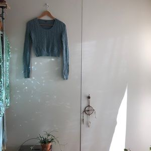 Vintage free people cropped sweater